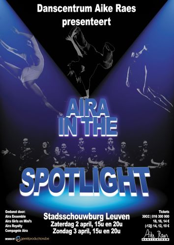 Aike Raes Aira In The Spotlight (Blauw)