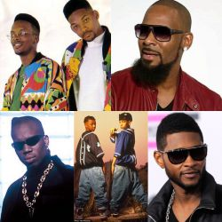 Usher - R Kelly - Mark Morrison - Kris Kross - The Fresh Prince (Funk/New Jack Swing)