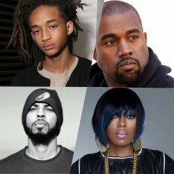 Jaden Smith - Kanye West - Missy Elliott - Disiz (Hip Hop)